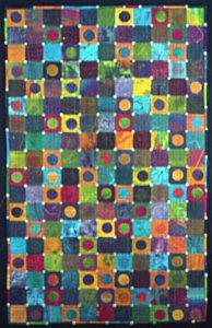 Natasha Kempers-Cullen, Mandala Meditation (2004), 57.5 x 36 in.